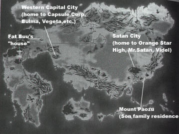Livin in the db world dragonballs earth the planet earth in the dragon ball world is not like our earth it consists of one single continent sort of like our ancient pangea gumiabroncs Gallery